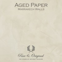 Pure & Original Aged Paper Marrakech Walls
