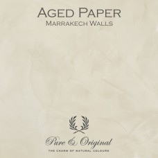 Pure & Original Aged Paper Marrakech Walls