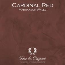 Pure & Original Cardinal Red Marrakech Walls