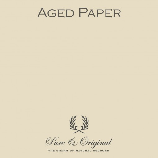 Pure & Original Aged Paper Wallprim
